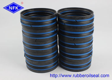 China DAS Hydraulic Piston Seals Combined Double Acting NBR POM TPE Material supplier