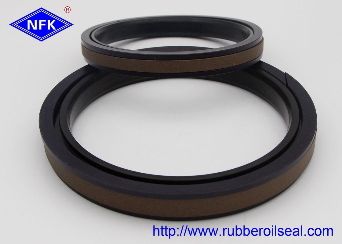 GS0612-V7' SPGW Hydraulic Piston Seals Dynamic Sealing Simple Groove Structure