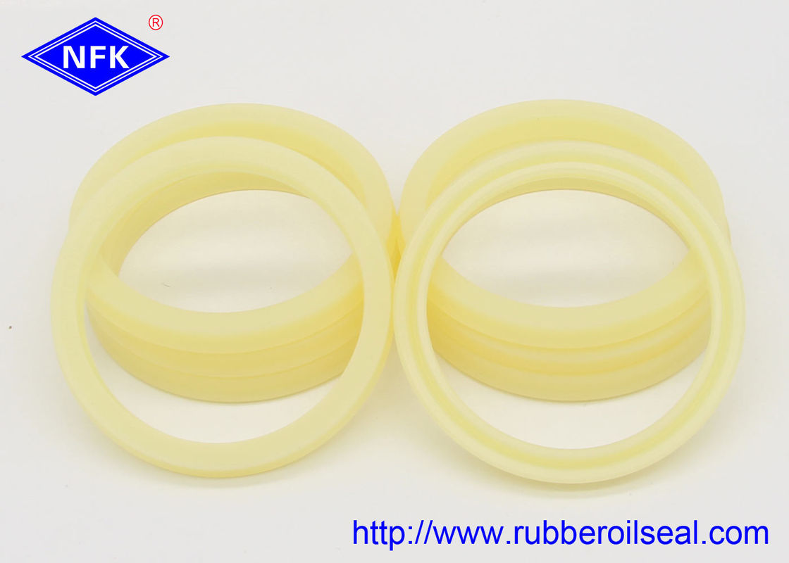 Metallurgical Industry Rubber Piston Seals / Hydraulic Cylinder Piston Rings PU Material ODI OSI OUIS OUHR