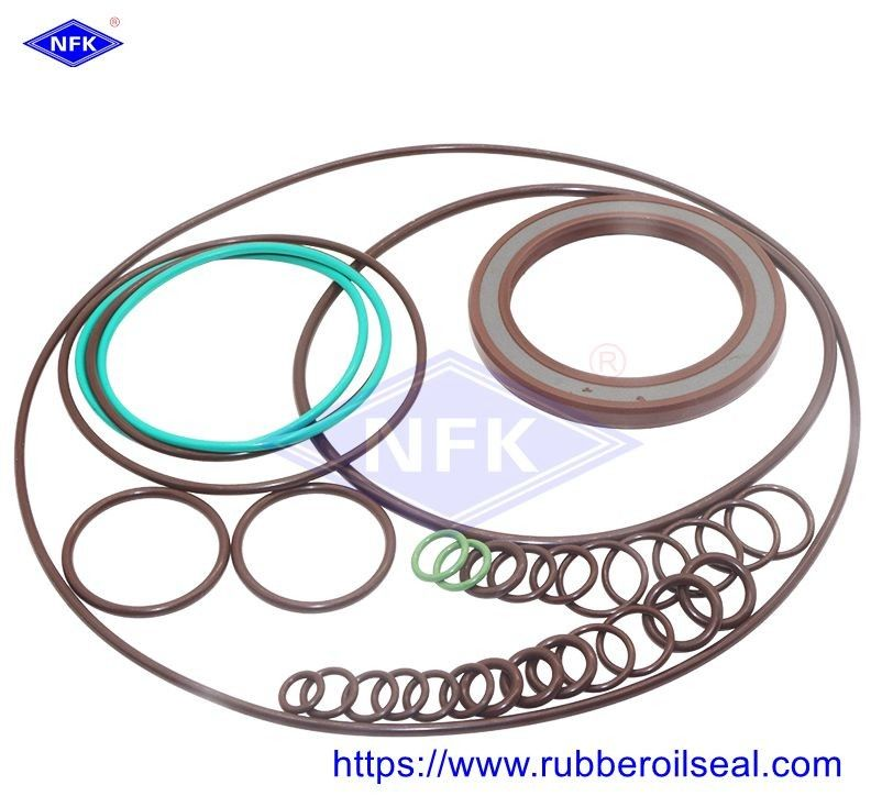 Rubber Hydraulic Repair Kits A4VSO180 A4VSO300 A4VSO350 A4VSO500 Rexroth Pump Resistant To Heat Oil Seal