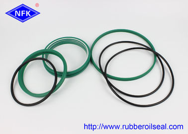 China Wear Resistance Breaker Seal Kit PU 93A , NBR 90 Hardness Green Color factory