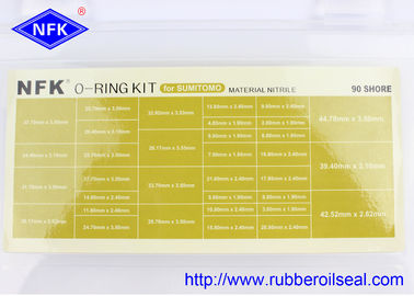 Pressure Washer O Ring Kit Valve Pusher Floating Oil Seal For SUMITOMO Machine