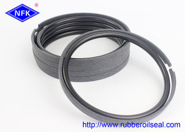 Bronze PTFE Hydraulic Piston Rings 30-90 Shore Hardness For  Excavator