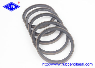China SPG Hydraulic Piston Seals , Hydraulic Cylinder Piston Rings Oil Seal Edge factory