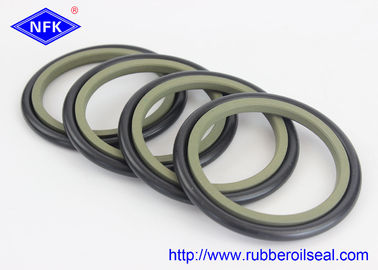 NBR PTFE Buffer Hydraulic Rod Seals , High Pressure Hydraulic Seals GS5059-V6 HBTS