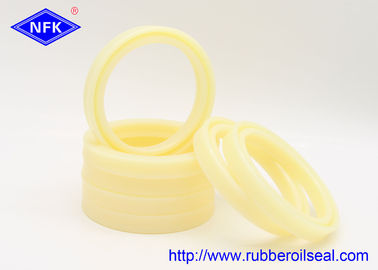 China High Temp Hydraulic Rod Seals 60*75*9mm Size Yellow U801 Wear Resistant factory