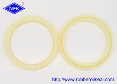 China Durable Yellow Polyurethane Hydraulic Rod Seal For Automobile , Motorcycles factory