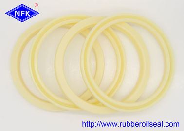 Excavator Parts Hydraulic Rod Seals FU1089-F3  IDI 100*120*12mm Yellow PU Material